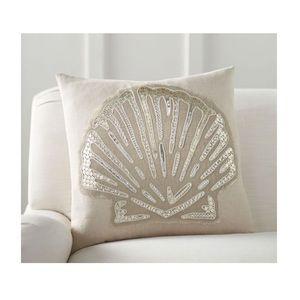 Pottery Barn shimmering shell 🐚 pillow slipcover